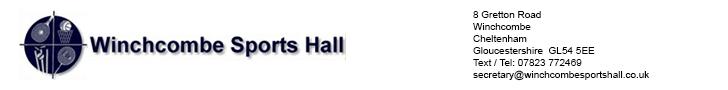 Winchcombe Sport sHall